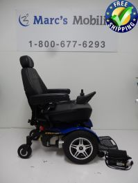 The Jazzy Elite 14 Mobility Wheelchair offers a 300 LBS weight capacity and excellent performance in a stylish, highly maneuverable package. The Jazzy Elite 14 Mobility Wheelchair is engineered and factory-tested to provide you with consistent high-perfor Powered Wheelchair, Types Of Flooring, Outdoor Power Equipment, The Selection, Chairs, Plate, Range, 1 Month, Stylish