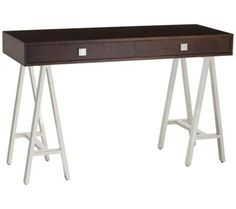 Embassy Espresso Console Table | 55DowningStreet.com