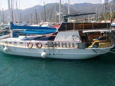 caïque yacht en bois de 19m tout équipé