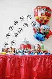 Paw Patrol Birthday Party Ideas - Bower Power Also - links to her other boy parties. Paw Patrol Cake, Paw Patrol Party, Paw Patrol Birthday, 4th Birthday Parties, 3rd Birthday, Paw Patrol Decorations, Puppy Party, Birthday Decorations, Party Ideas