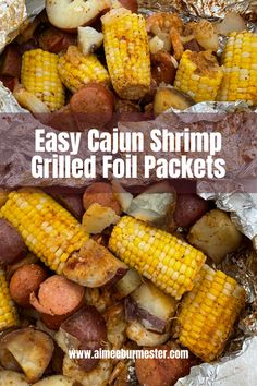 Summer is the perfect time to get out of the house and utilize your grill. If you're looking for an easy, delicious option with minimal mess and clean-up, then try these Cajun shrimp foil packets for your next dinner! Cajun Shrimp, Grilled Shrimp, Grilled Foil Packets, Old Bay Seasoning, Chef Recipes, Fish And Seafood, Grilling, Minimal, Favorite Recipes