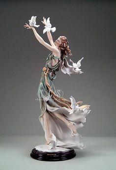 Giuseppe Armani White Wings Ltd. Ed. 675 1839C $5600.00. #GiuseppeArmani #Figurine.