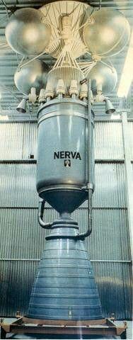 NERVA nuclear rocket engine