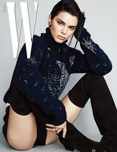 Kendall Jenner lands not one but two covers for the September 2017 issue of W Korea. The American supermodel wears Dior for the fashion spread captured by Patrick Demarchelier. From dreamy gowns to chunky sweaters and pleated skirts, Kendall charms in each image. Stylist Woo Lee puts the brunette in looks from the French label's...[Read More]