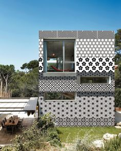"""OUT"" - Outdoor Unconventional Textures system from Italian Wallpaper company Wall & Deco via @Coolhunter"