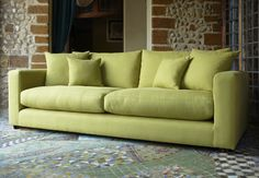 Dillon medium-sofa in Pasture Natural - Sofa Workshop