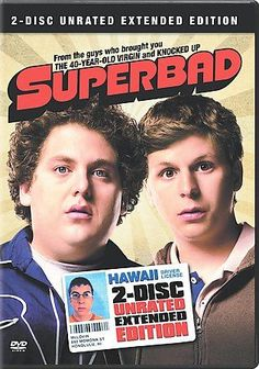 Superbad (DVD, 2007, 2-Disc Set, Special Edition; Unrated; Extended Cut) USED