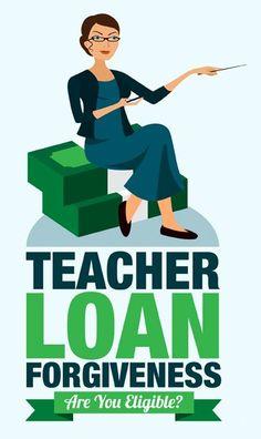 Teacher student loan forgiveness Pay off Debt, Student Loan Debt Paying Off Student Loans, Student Loan Debt, Student Teaching, Teaching Resources, Teaching Profession, New Teachers, Teacher Hacks, Teacher Stuff, Finance