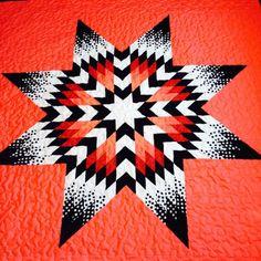 Star Quilts Patterns – co-nnect. Lone Star Quilt Pattern, Star Quilt Patterns, Star Quilts, Southwestern Quilts, Indian Quilt, Star Blanket, Quilt Modernen, Diamond Quilt, Quilting Designs