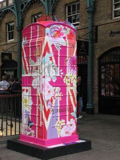 Phone booth art