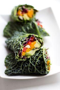 Raw Veggie Wraps Wit