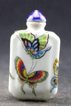 Collecting-Oriental-Vintage-Handwork-handmade-rare-Snuff-Bottles