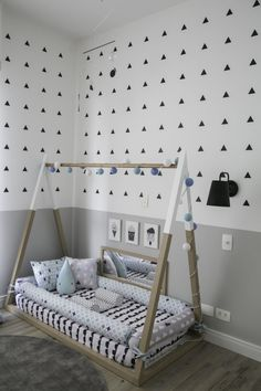 Best Toddler Boys Bedroom Themes for your Best Toddler Boys Bedroom Themes for your inspiration Baby Hammock Cama montessoriana: 90 modelos lindos, vantagens e onde comprar Custom order toddler bed bumper removable cover snake Montessori Teepee Bed Boy Toddler Bedroom, Toddler Rooms, Baby Bedroom, Baby Boy Rooms, Nursery Room, Kids Bedroom, Toddler Floor Bed, Trendy Bedroom, Diy Toddler Bed