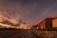 Warrnambool Railway Station at Sunset.  #warrnambool #destinationwarrnambool #visitwarrnambool #greatoceanroad #seegor #picoftheday #igdaily #exploreaustralia #epic_captures #ig_sharepoint #sunset_hub #sunset_vision #special_shots #superhubs_shot #jaw_dropping_shots #dream_image #wow_australia #superhubs_shot #sky_sultans #sky_painters #super_photosunsets #gottolove_this #australia_shotz #sunset_madness #sunset_stream #FocusAustralia #aussiephotos #australiagram by mtberharry