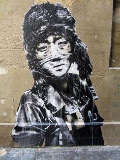 EDDIE COLLA  .. (ph. Loulou Duagir) .. in Paris ..  [France ..]