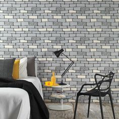 The Wall by Hemingway - Brick Wall Coverings by Graham  Brown