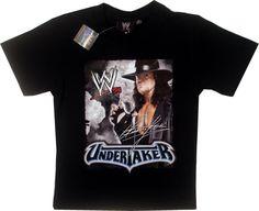 Tricou WWE cu Undertaker, 100% bumbac. Haine pentru copii 11-12 ani Wwe, Mens Tops, T Shirt, Fashion, Supreme T Shirt, Moda, Tee Shirt, Fashion Styles, Fashion Illustrations