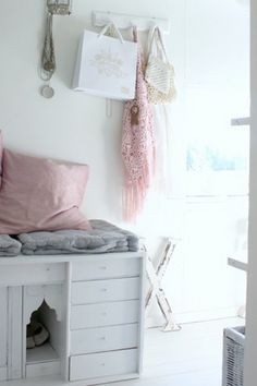 Pastel and Striped Interior