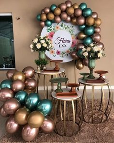 Birthday Balloon Decorations, Birthday Balloons, Wedding Decorations, Birthday Parties, Deco Ballon, Diy Wedding Favors, Wedding Souvenir, Holidays And Events, Event Decor