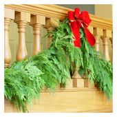 really well priced LIVE garland, wreaths and other evergreens!!  Free Shipping too!