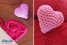 Sie lieben Häkeln? Was passt da noch besser als ein Häkelherz? In dieser DIY-Anleitung finden Sie zwei Varianten, wie Sie selbst ein Herz häkeln können.