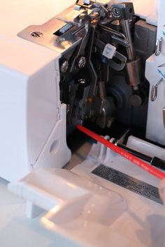 Serger Tips...i was just thinking how i wanted to get back into sewing