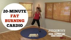 20 Minute Fat Burning Cardio Workout - No Equipment Needed for All Levels!
