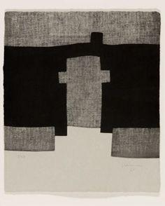 Guggenheim III, etching, 1998 by Eduardo Chilida (Basque) via culturamas online art magazine