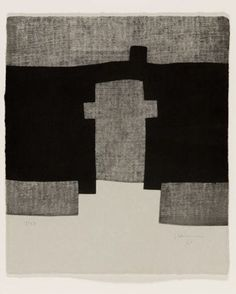 Guggenheim III, etching, 1998 by Eduardo Chilida (Basque) via culturamas online art magazine
