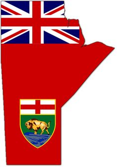Flag-map of Manitoba Canadian Things, I Am Canadian, Canadian History, British North America, All About Canada, Canada Eh, Winning The Lottery, England And Scotland, True North