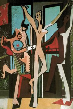 Pablo Picasso - The Dance. Reminds me of my primary school!