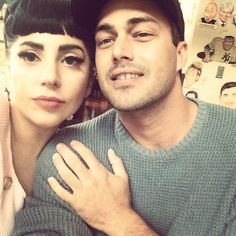 Pin for Later: Lady Gaga and Taylor Kinney's Cutest Couple Moments