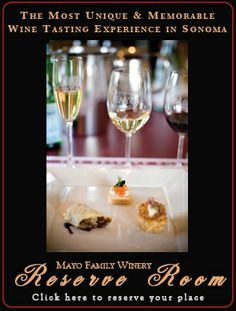 Mayo Family Winery - My favorite winery in Sonoma. The best tasting room around!