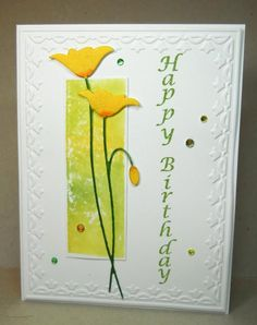 Double Triple Tulips by susanbri - Cards and Paper Crafts at Splitcoaststampers