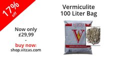 High-Temperature Insulation Material. Resistant up to 1100C for insulation behind firebacks, around stoves and pizza oven.  Now only £29.99! Buy now: http://shop.vitcas.com/vermiculite-100-liter-bag-71-p.asp