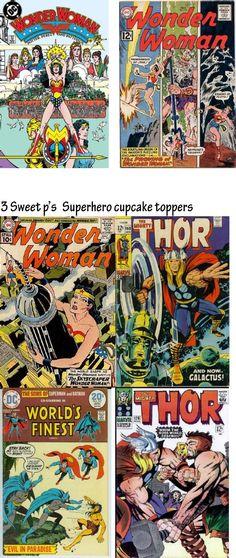 Superhero Comics. Need to find, EBay?