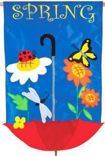 Spring Showers Flag e157722