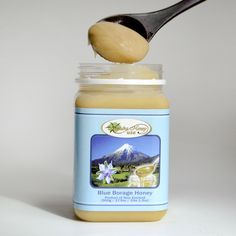 If you love the taste of Manuka honey but find it too costly for your favorite recipes, consider using Blue Borage honey as an alternative. Blue Morning Glory, Edible Pearls, Best Honey, Elle, Manuka Honey, Honey Lemon, South Island, Facials, Facial Masks