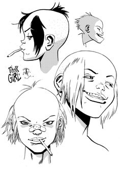 CHARACTER MODEL — Tank Girl by James Harvey