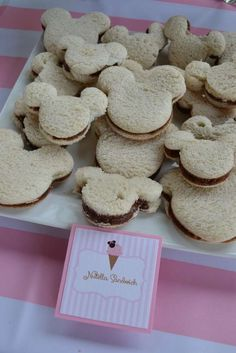 Minnie Mouse / Ice Cream Birthday Party Ideas | Photo 10 of 53 | Catch My Party