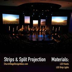 Strips & Split Projection