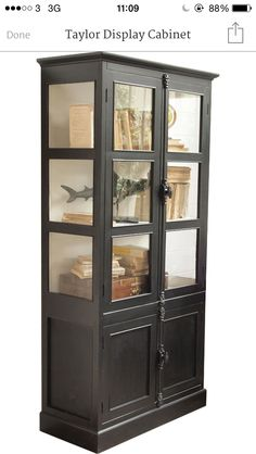 Quirky display cabinet