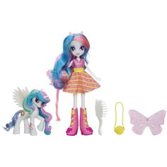 For Brielle  Amazon.com: My Little Pony Equestria Girls Celestia Doll and Pony Set: Toys & Games