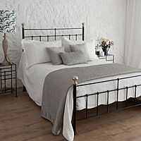 Wrought Iron Beds Sophie - Wrought Iron Brass Bed Co. Wrought Iron Bed Frames, Beds Uk, Brass Bed, Home Decor Pictures, Metal Beds, My Dream Home, Master Bedroom, Pure Products, Interior