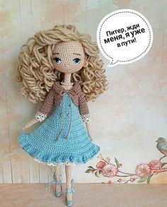 crochet doll for Crochet Art, Crochet Doll Pattern, Crochet Patterns Amigurumi, Cute Crochet, Amigurumi Doll, Crochet Crafts, Crochet Projects, Yarn Dolls, Knitted Dolls