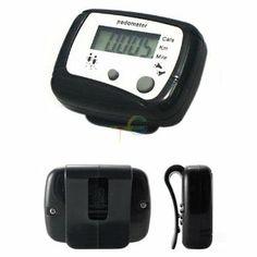 S9Q Portable Digital Hike Pedometer Calorie Monitor Running Walking Counter