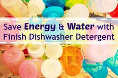 Don't wash those dishes by hand! Save water and energy while getting max clean with Finish! #FinishMaxIn1 #ad