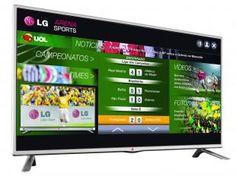 Conecte-se ao fantástico mundo Smart TV da LG. O jeito mais fácil de acessar seus conteúdos favoritos. Com fácil navegação e inúmeros conteúdos, você ganha mais entretenimento e diversão para toda a família
