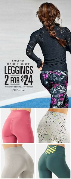 Perfect butt. Perfect leggings. Perfect deal. Just perfect.