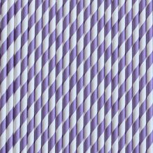 Vintage Purple Stripe Paper Straws- Bake it Pretty. $4.50 for 24.